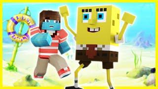 Spongebob - BIKINI BOTTOM (Minecraft Roleplay) #1