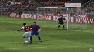 Pro Evolution Soccer 6 PS2 Gameplay HD