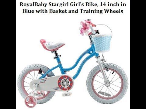 def16b26266f RoyalBaby Stargirl BMX Girl's Bike 14 inch Blue - Best Kids Ride on Toys
