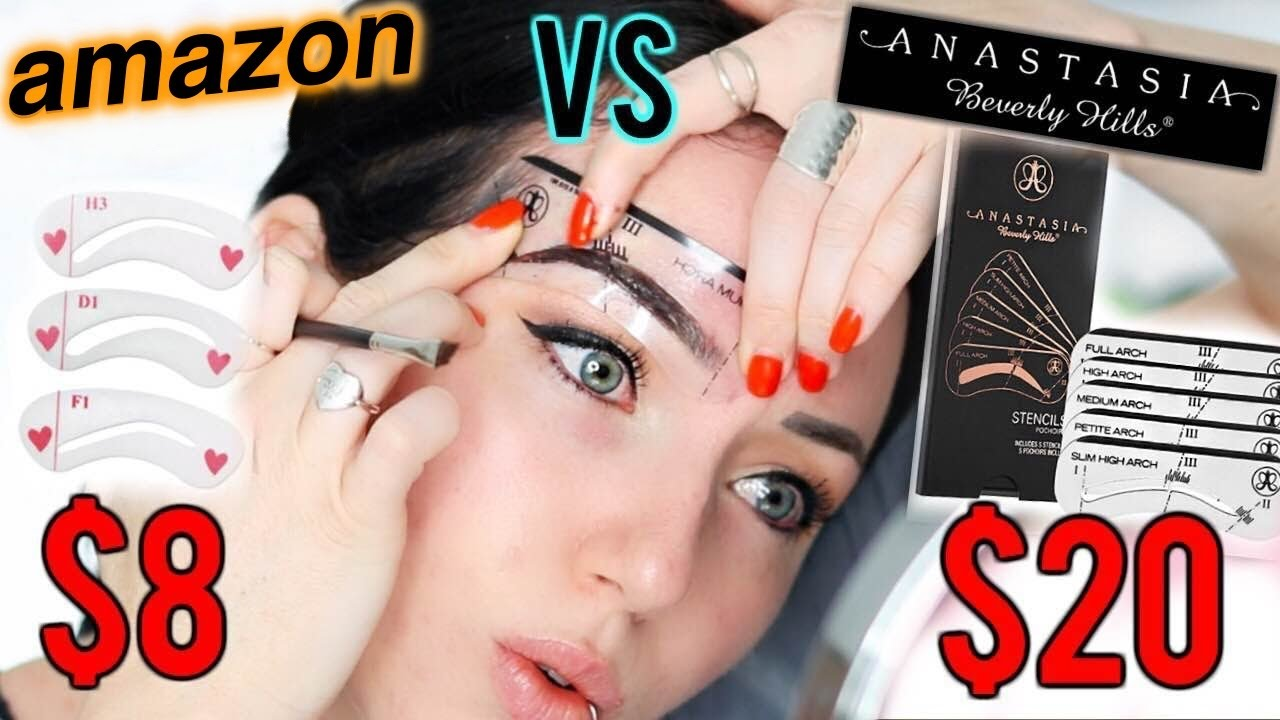 The Perfect Easy Brow Anastasia Beverly Hills Vs 8 Amazon Brow