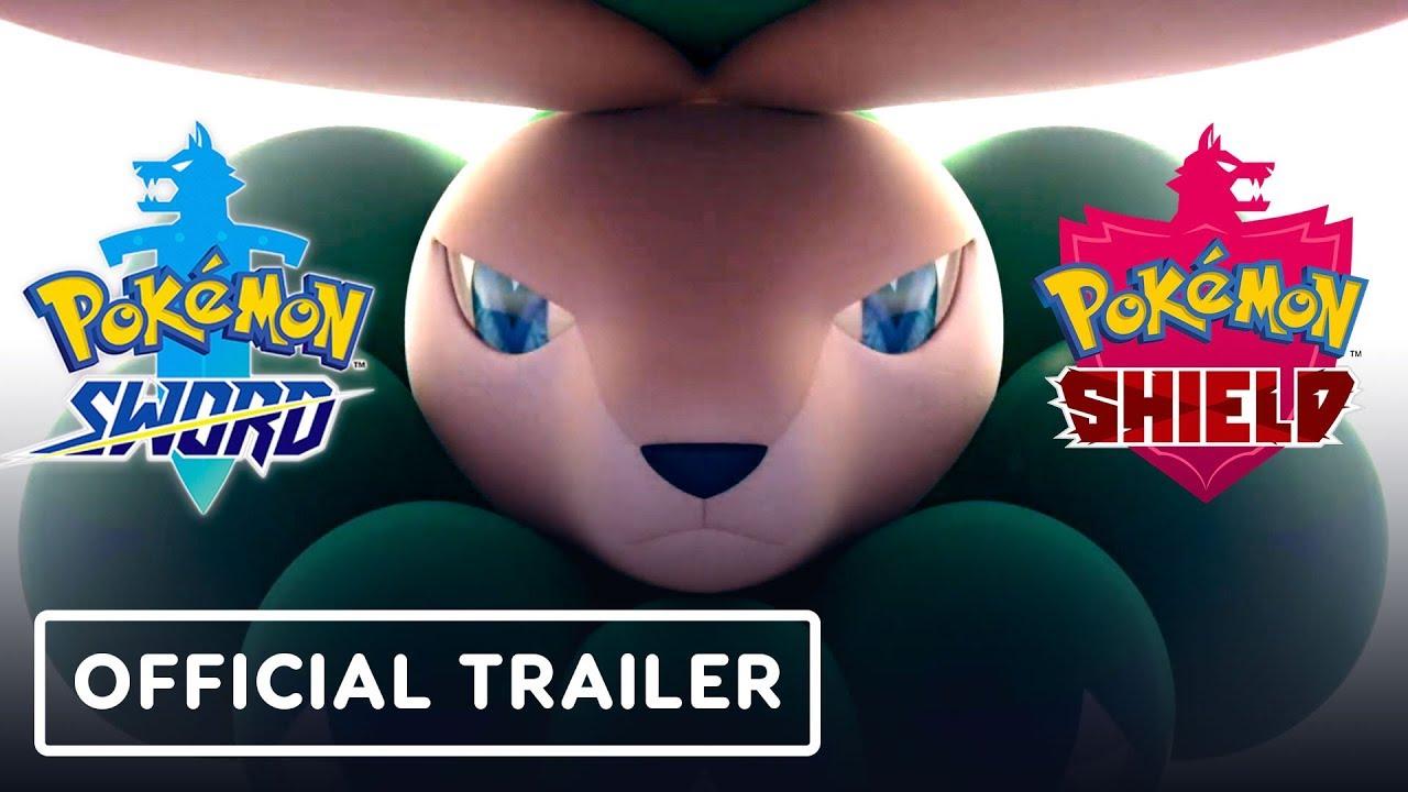 Trailer de DLC do Passe de Expansão Pokemon Sword and Shield + vídeo