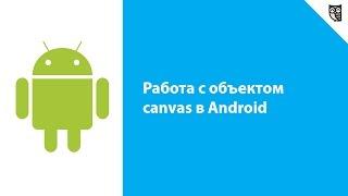Работа с объектом canvas в Android