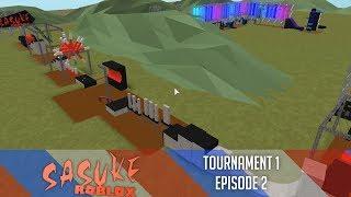 SASUKE Roblox Tournament 1, Épisode 2
