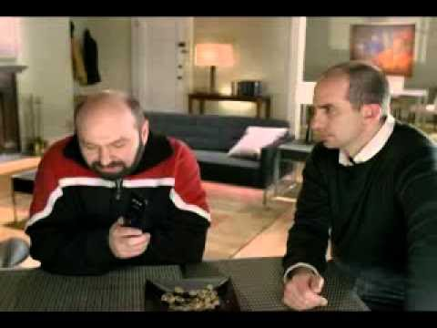Sprint Nextel Commercial - Burning Couch & Benny Hill
