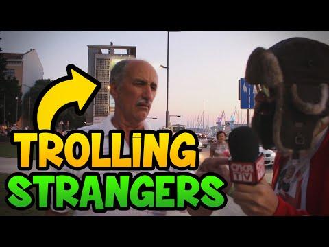 Trolling Strangers in Croatia