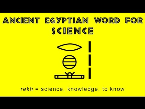 Science in Ancient Egypt