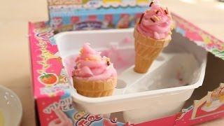 Kracie Popin Cookin Icecream Cake Shop Tutorial - How To Japans Snoep - Mostcutest.nl