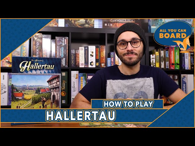 Hallertau | How to Play Uwe Rosenberg's Latest BIG BOX Game! (Goods & Sheep & Crops, OH MY!)