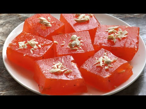 Chewy and perfect bombay karachi halwa recipe