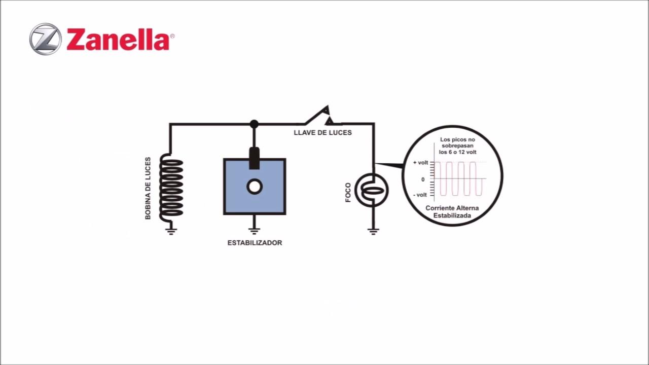 conexi u00f3n de regulador de voltaje de ciclomotores zanella