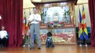 2013-10 香港狗會愛犬組表演Part2, 佛教筏可紀念
