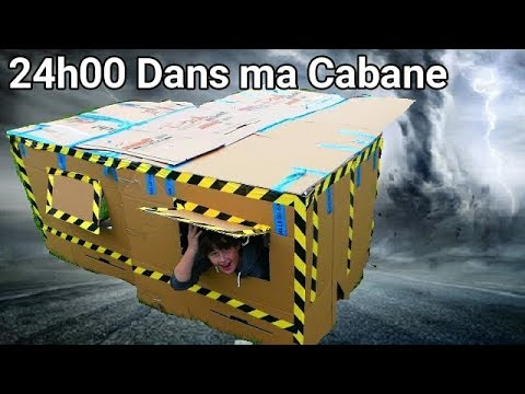 24h00 ds ma maison en carton anti cyclone a tourne mal for Anti fouine maison