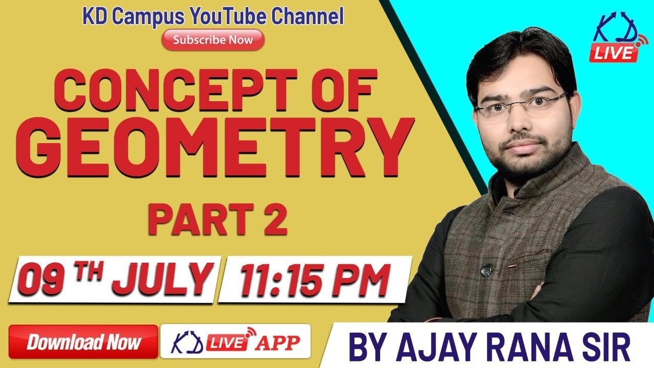 || Concept of Geometry-Part 02 || By Ajay Rana Sir