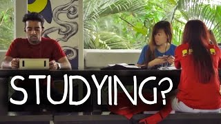 Students Studying PRANK in Singapore!! thumbnail
