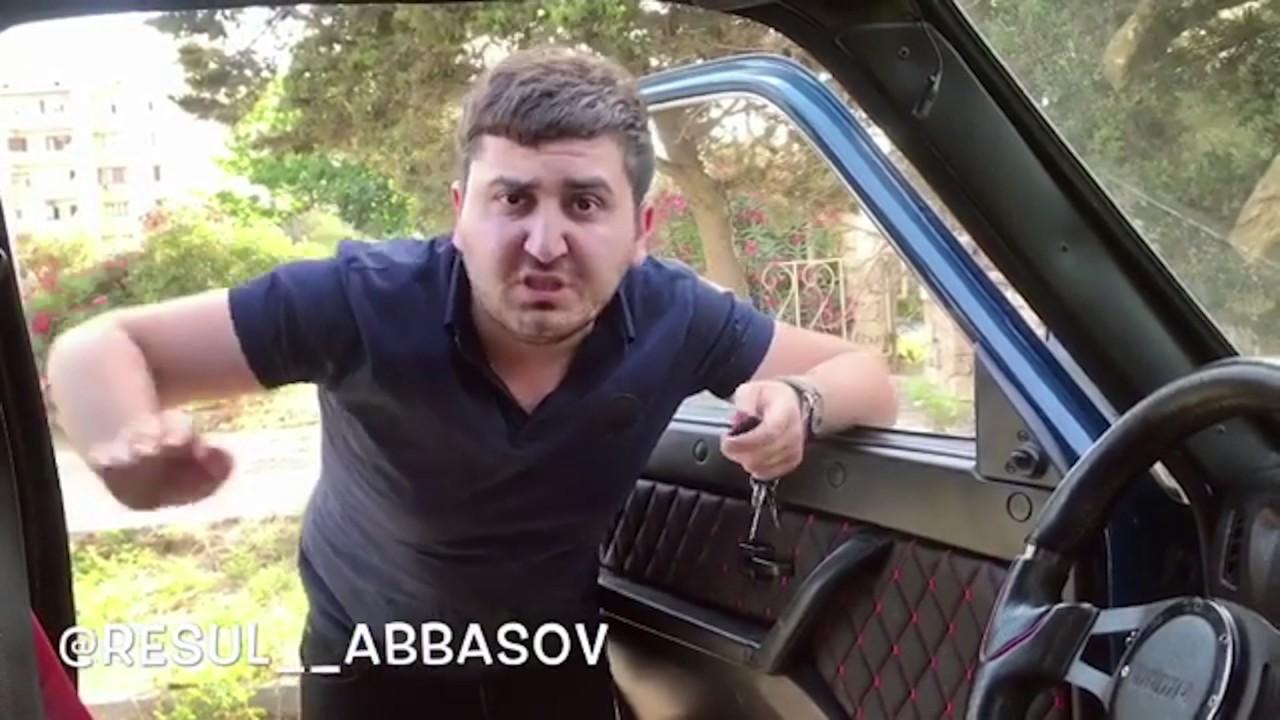 Resul Abbasov müştərilərini dəli edən taksi yene iş başında