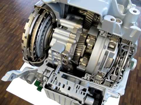 2013 ZF 9-speed transmission cutaway details at ZF's R&D ...
