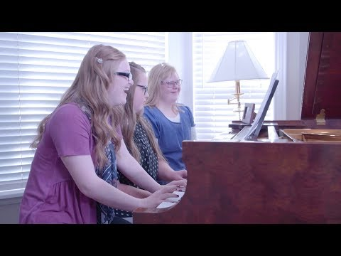 'How Far I'll Go' (Moana) - Special Piano Trio for Down Syndrome Awareness - from Jason Lyle Black