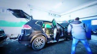 Полная шумо-виброизоляция + монтаж Hi-Fi акустики на Nissan X-Trail 2015(Видео работы над одним из наших недавних проектов. Автомобиль - Nissan X-Trail 2015 года выпуска. В машинке сделана..., 2016-04-13T20:54:07.000Z)