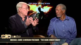 Michael Caine & Morgan Freeman Talk