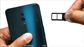 OPPO Reno - How to Insert SIM Cards