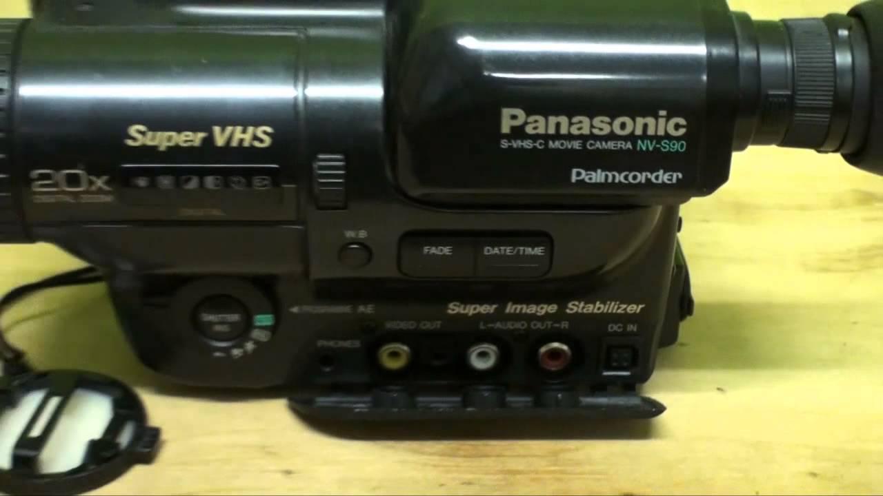 Panasonic Nv-s90 S-vhs-c Camcorder