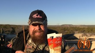 A friend of the Forks and his smokin' deer lures. Tink's Smoke Sticks