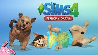 REVIEW Los Sims 4 Perros y Gatos | Crear Una Mascota | 1/3