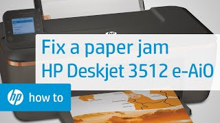 Hp Deskjet 3510 Printers Paper Jam Error Hp Customer Support