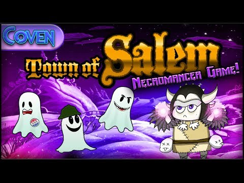 Town of Salem (Necromancer Game) | NIGHT OF THE LIVING DEAD! (Ranked Practice)