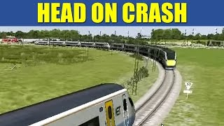 Train Simulator 2013 - Super Express HEAD ON CRASH (Commentary)