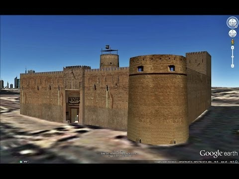 HISTORICAL PLACES OF UNITED ARAB EMIRATES IN GOOGLE EARTH