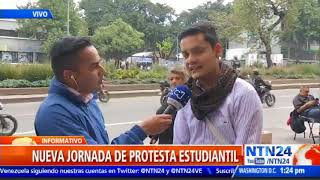 Nuevas marchas estudiantiles en Colombia para exigir mayor presupuesto en educación