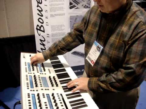 Solaris Synthesizer by John Bowen New from Namm 2010