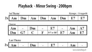 Minor Swing Backing Track