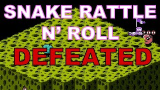Snake Rattle 'n' Roll (NES) DEFEATED!! Mike Matei Live