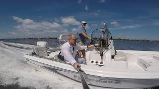 2017 Blue Wave 2000 Pure Bay center console bay boat water test