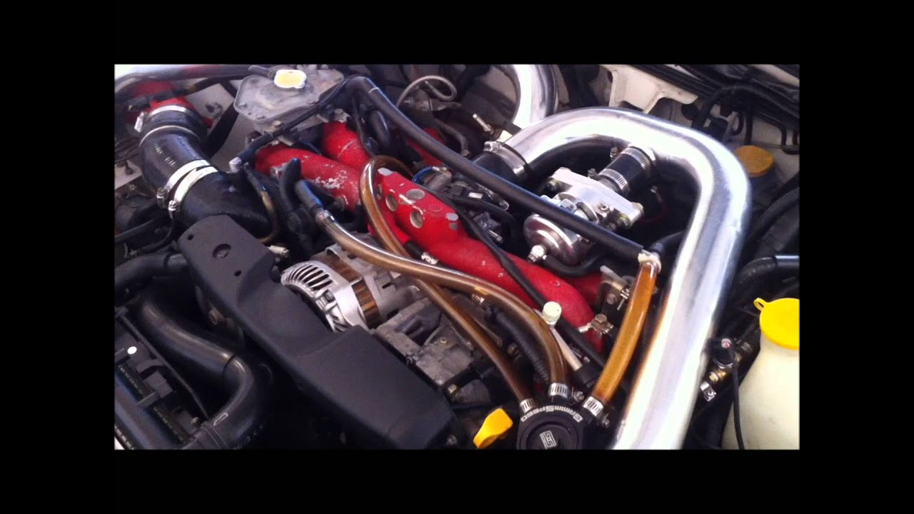 04 Subaru STI Compression test