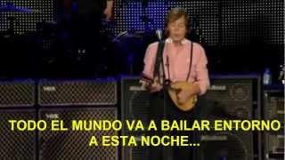 Paul McCartney- Dance Tonight (Zocalo,Mex) Subtitulada Español