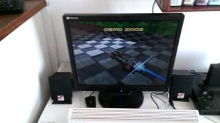 My A1200 PPC Playing Wipeout 2097