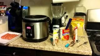 Sausage And Rice In The Pressure Cooker