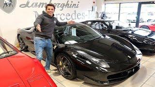 TIME TO BUY A FERRARI? £175,000 458 ITALIA!