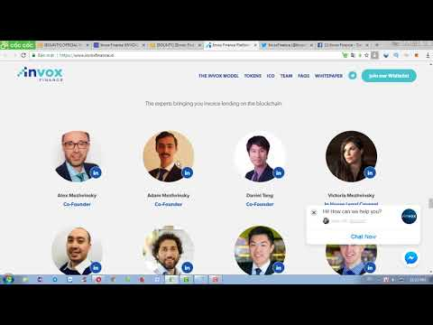 [BOUNTY] Invox finance ico review- Nhận free token tiềm năng