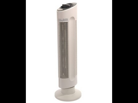 Sharper Image Ionic Breeze Air Filter System Commercial