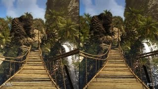 Dead Island Riptide: Xbox 360 vs. PS3 Comparison Video