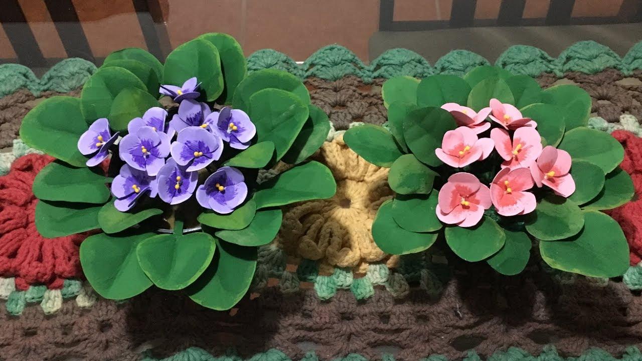 ペットボトルでDIY!超リアルな観葉植物・サボテン・スミレの作り方