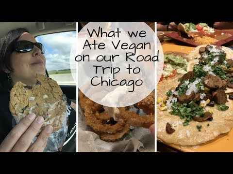VEGAN Road Trip To Chicago//Pittsburgh -Youngstown - Toledo - Southbend  - Vegan Brewery