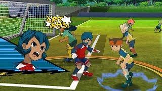 Inazuma Eleven Go Strikers 2013 Raimon Vs Little Gigant Wii 1080p (Dolphin/Gameplay)