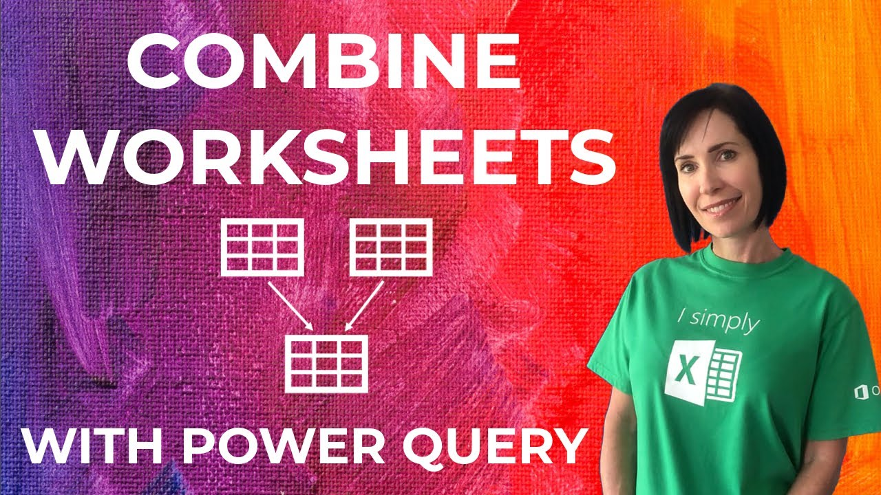 Free Worksheet Excel Combine Worksheets combine excel worksheets in power query youtube query