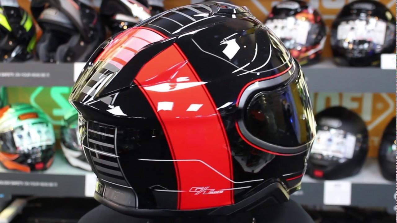 Shoei Gt Air >> Shoei GT Air 2 Crossbar TC1 Helmet - YouTube