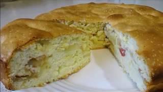 ПРОЩЕ НЕКУДА! Самый ПРОСТОЙ Яблочный Пирог / Безумно Вкусный!